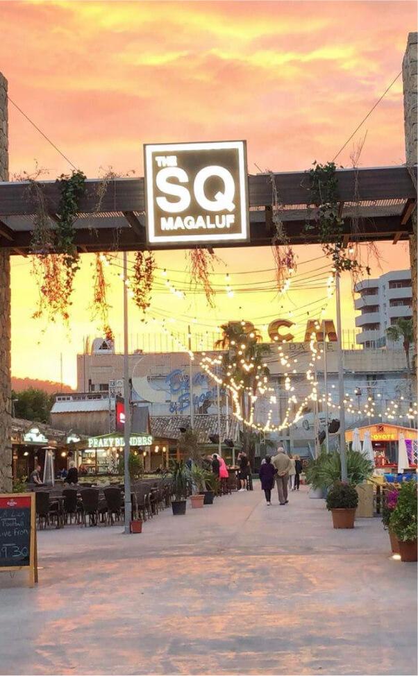 MAgaluf Square