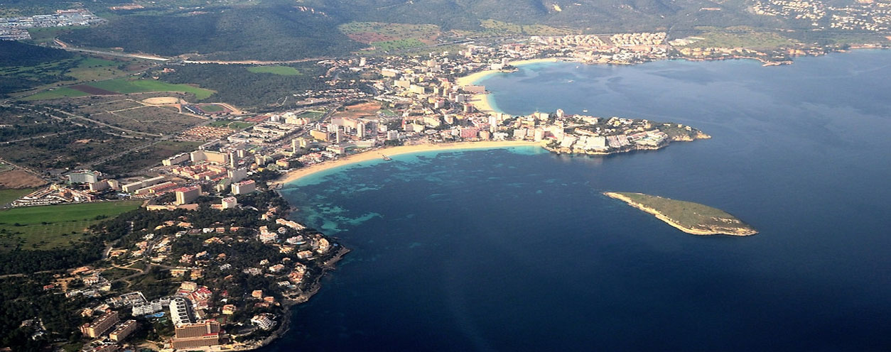 View of magaluf / palma