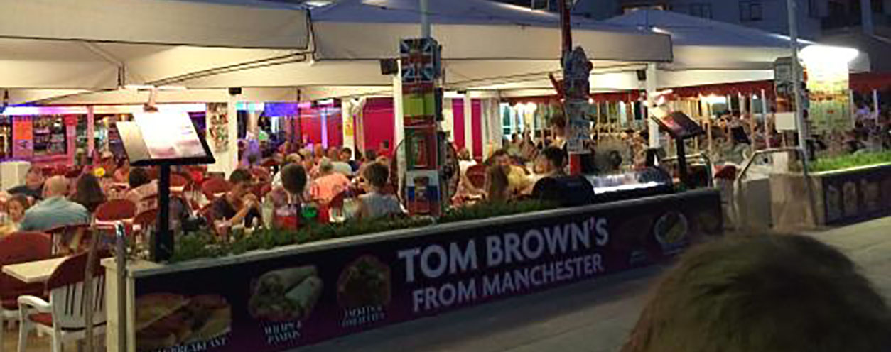 magaluf Tom Brown's
