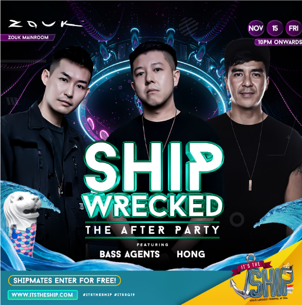 ship wrecked the after party