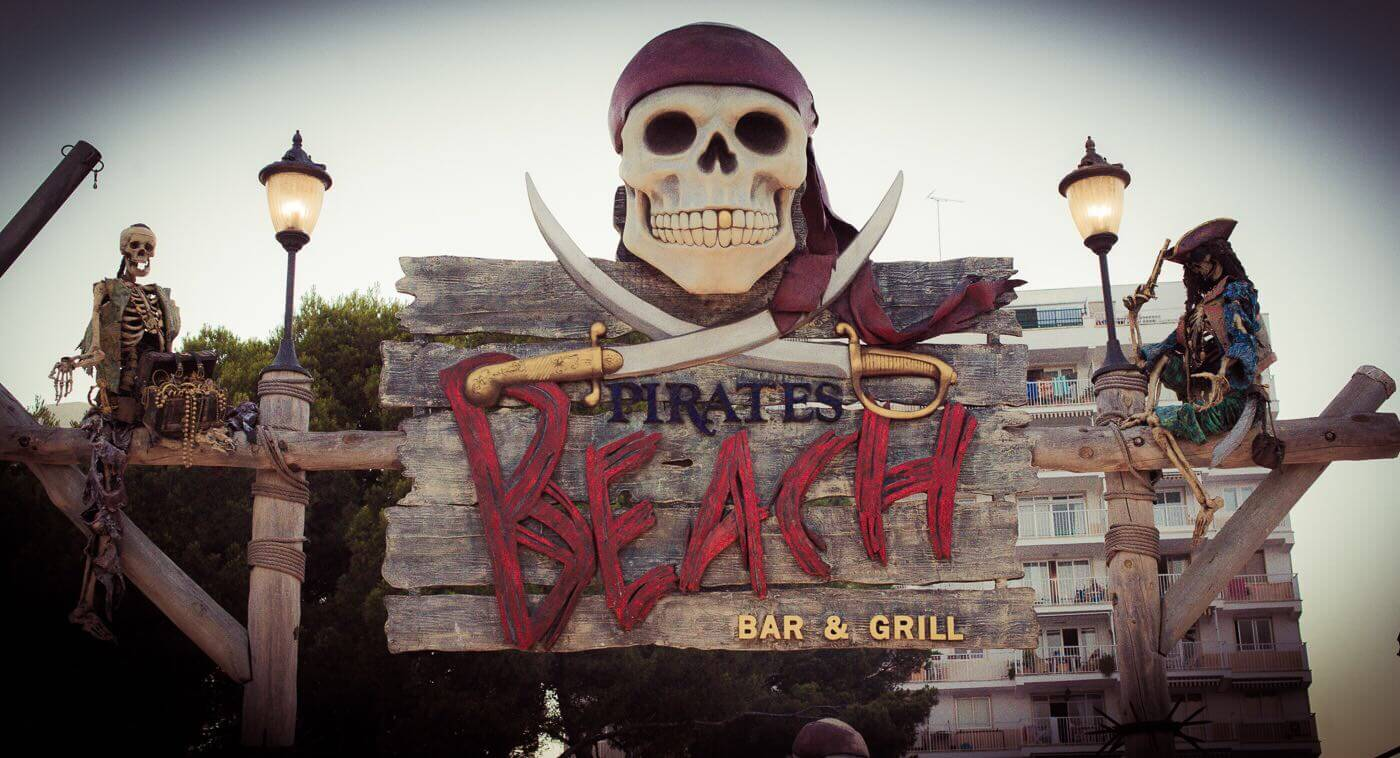 Pirates bar grill